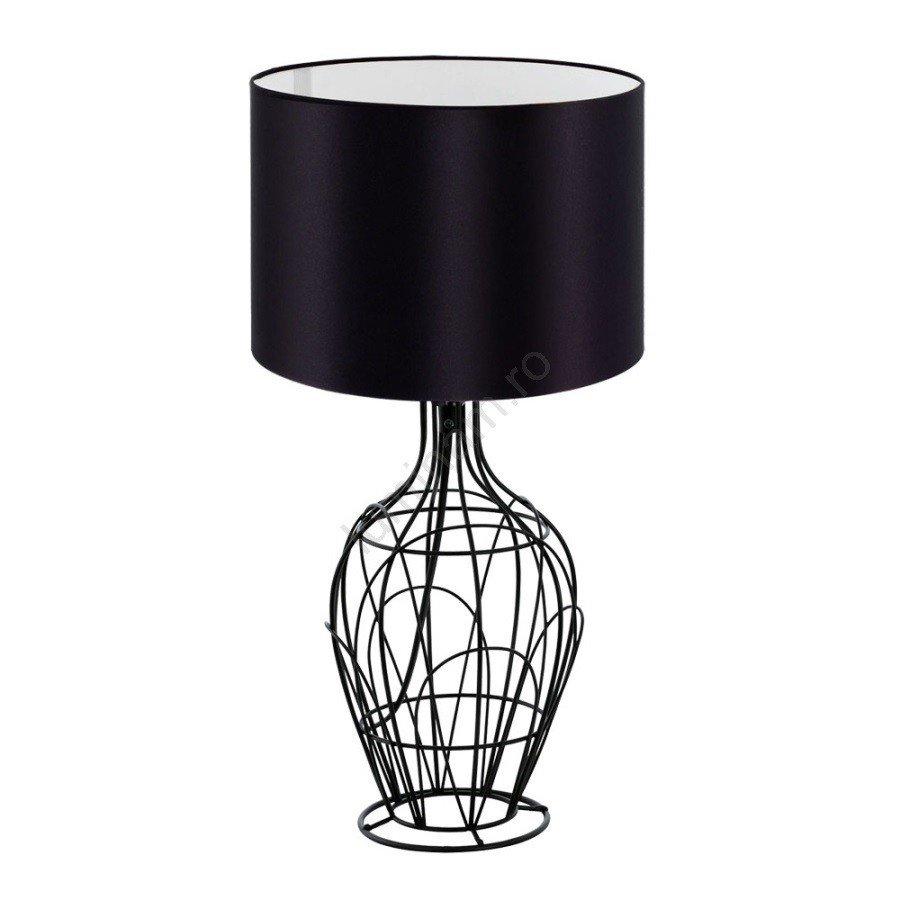 Eglo 32369 - Lampă de masă FAGONA , metalica, neagra, design modern