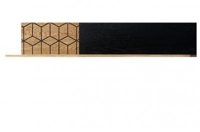 Etajera Large Mosaic , stejar