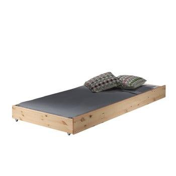 Extensie pentru pat Vipack Pino, 90x195cm, natural