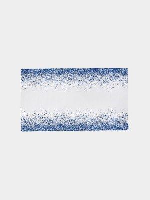 Fata de masa din bumbac organic alb-albastru 140X240 cm Splash Ferm Living