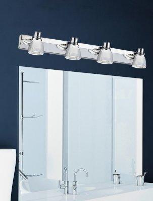 Iluminat oglinda baie  Bellezza, set aplice crom