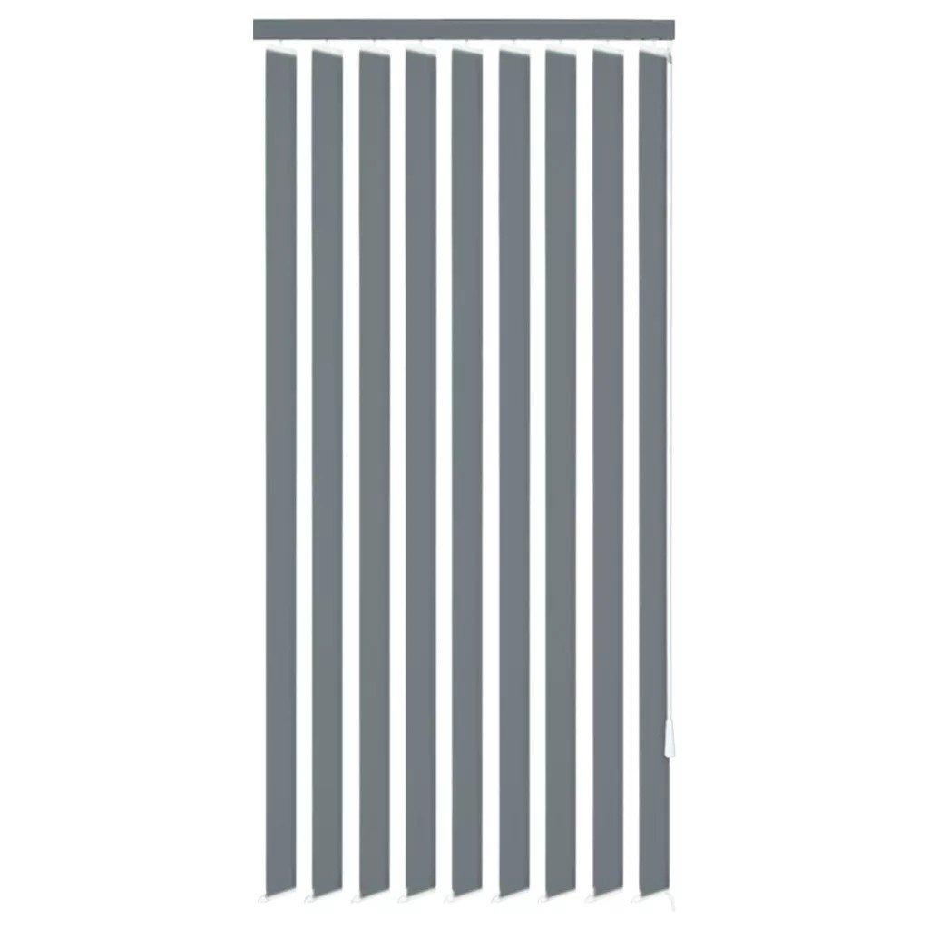 Jaluzele verticale din material textil, 120 x 180 cm, gri