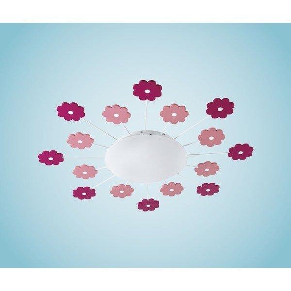 Lampa copii VIKI 1  Eglo cu flori roz