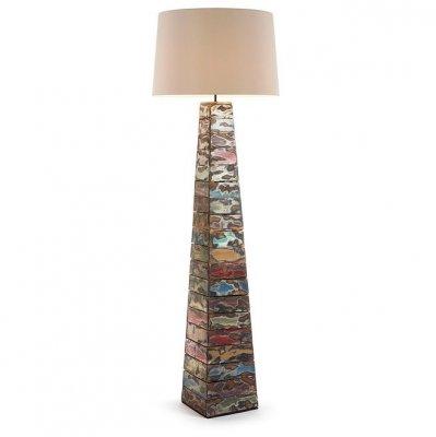 Lampadar din lemn colorat 168 cm Ygoo La Forma