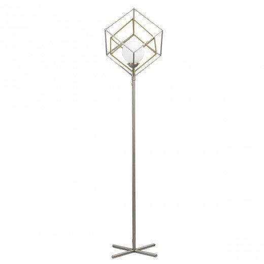 Lampadar metalic MW-Light Neoclassic 726040501, abajur cub