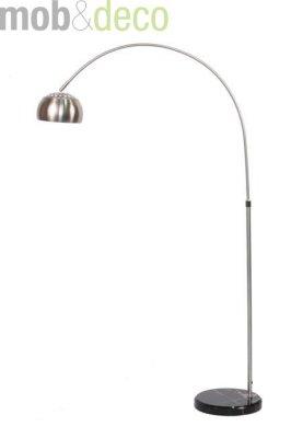 Lampadar modern din inox, curbat