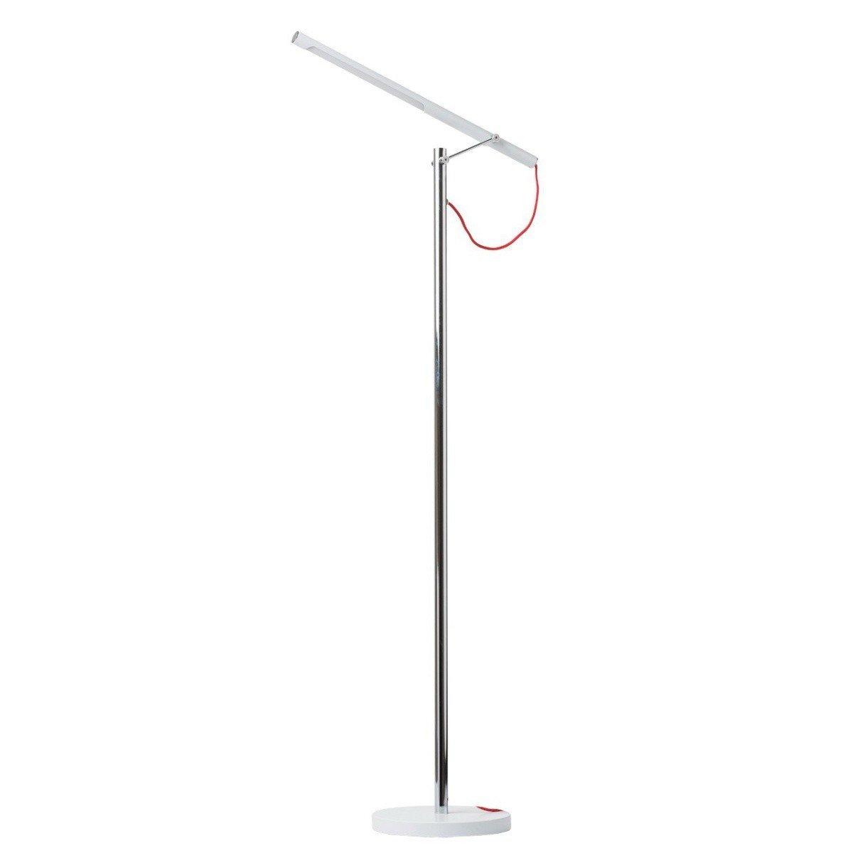 Lampadar MW-Light Techno 631040901, emtalic, argintiu, design modern