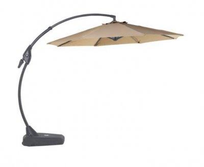 LISMORE Umbrelă cu cadru din aluminiu, curbat