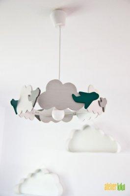 Lustră cu norișori CARUSEL