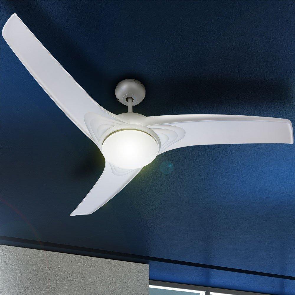 Lustra ventilator metalica, argintie