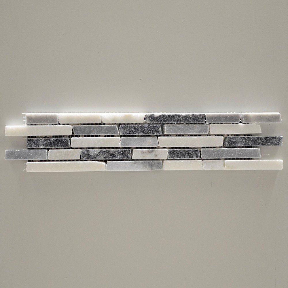 Marmura, STN 919, profil, 30.5X8, 0.8, lusttryuit, gri/negru