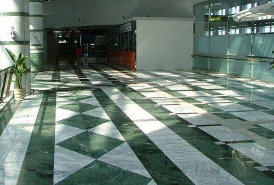Marmura verde, India, placaj, 60X30, 1.5, lustruit