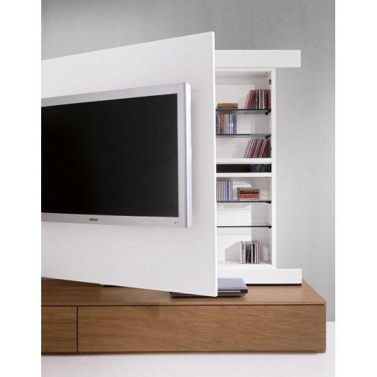 Mobilier living modular Maia, modern, alb