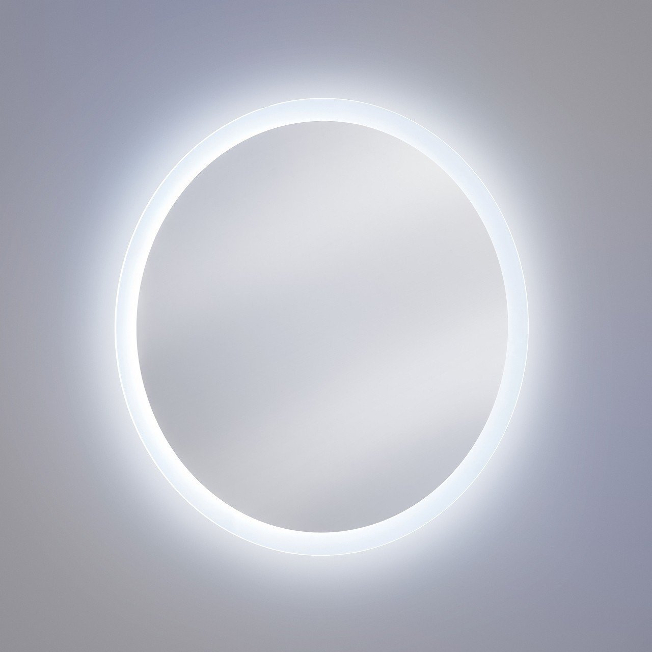Oglinda pentru baie cu Led, rotunda  60 cm