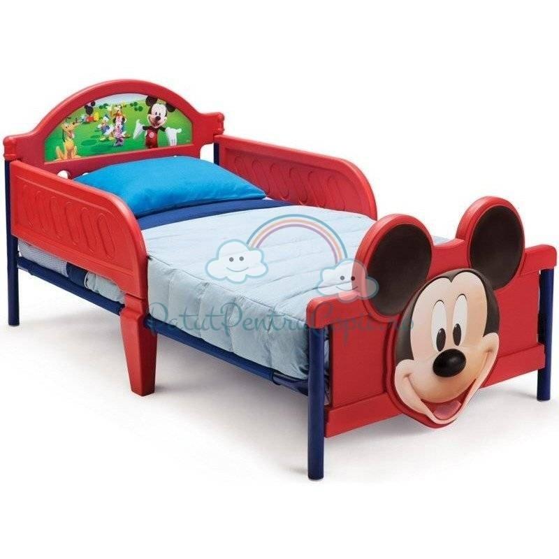 Pat 3D cu Cadru Metalic Happy Children - Disney Mickey Mouse