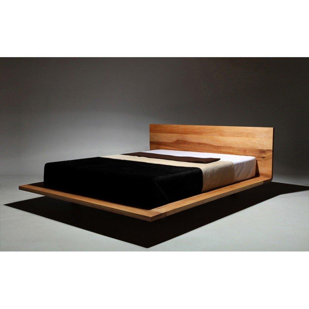 Pat din lemn de arin tratat cu ulei Mazzivo Mood, 200 x 220 cm