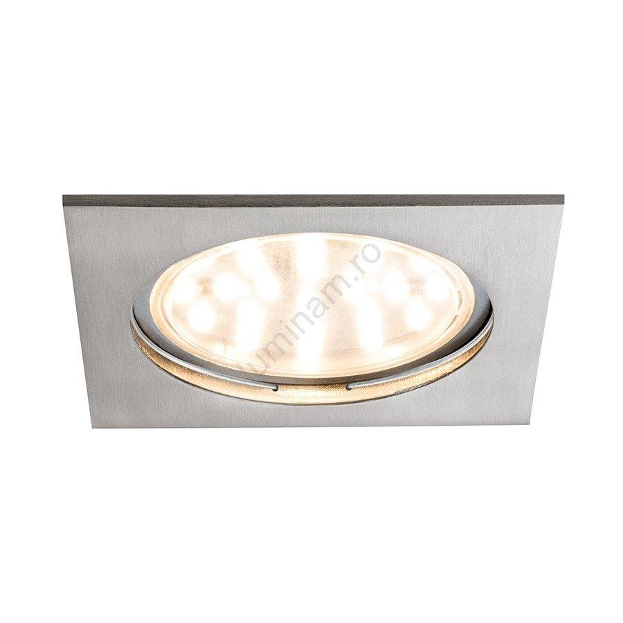 Paulmann lampa incastrata dimmabilă baie 230V, LED/14W, metalica, stil modern
