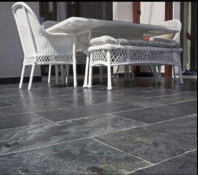 Pavaj terasa ardezie Silver Periata 60 x 30 cm