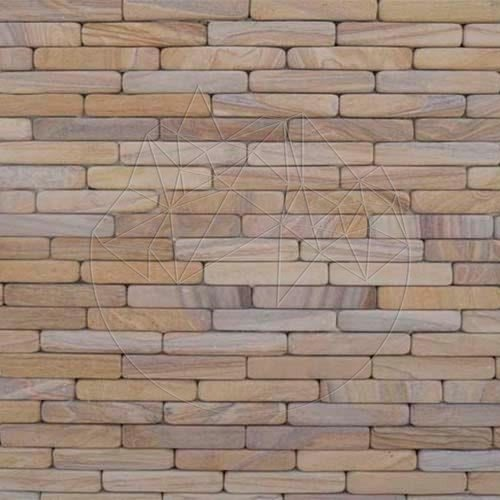 Piatra naturala decorativa Sandstone Rainbow Fileti Antik 4 x 20cm