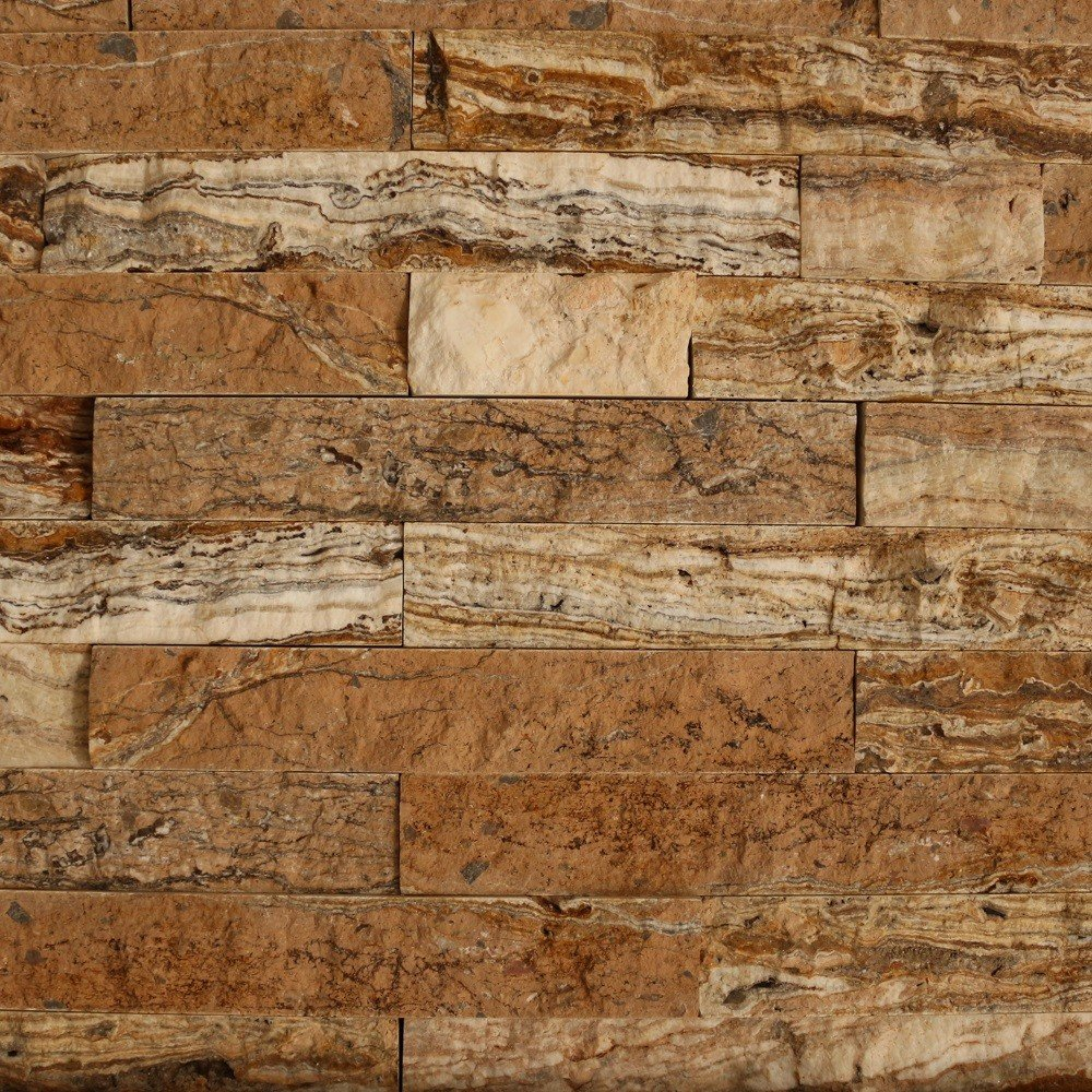 Piatra naturala ghilotinata, bej, interior/exterior