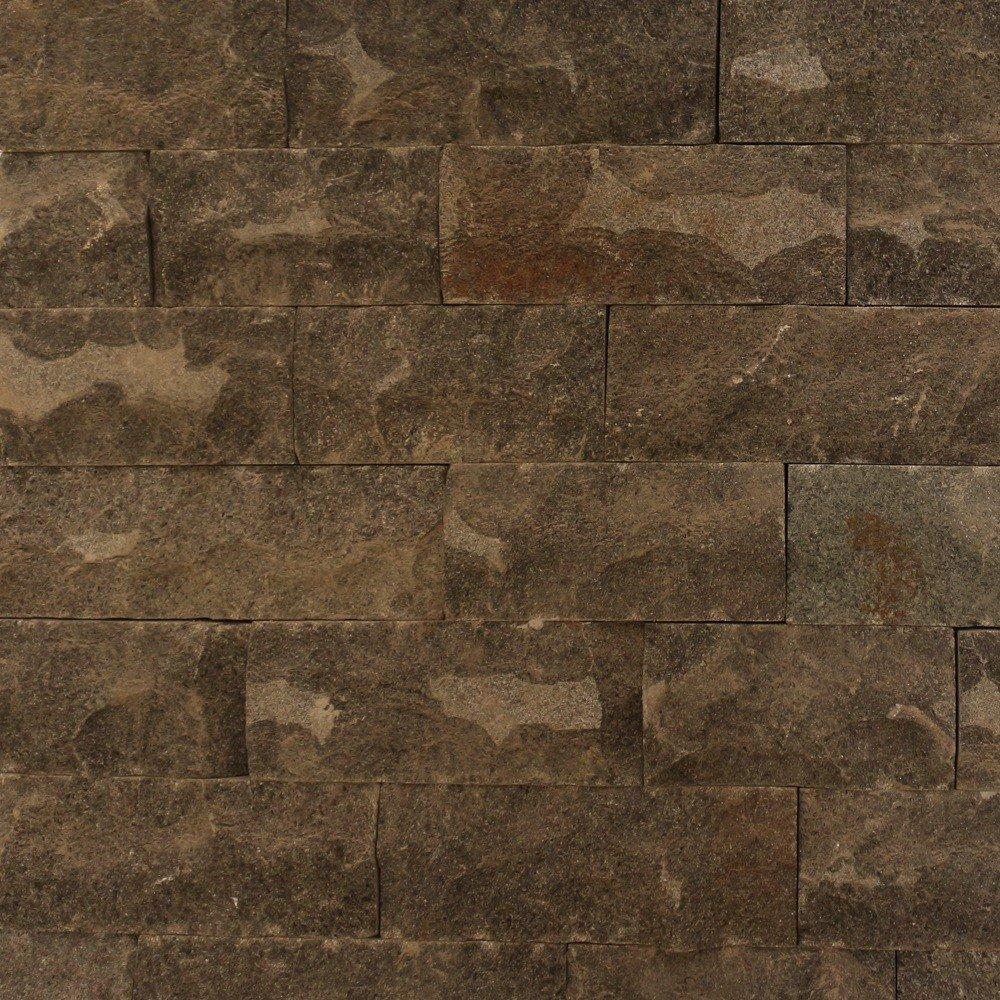 Placaj piatra naturala, andezit,maro inchis , interior/exterior