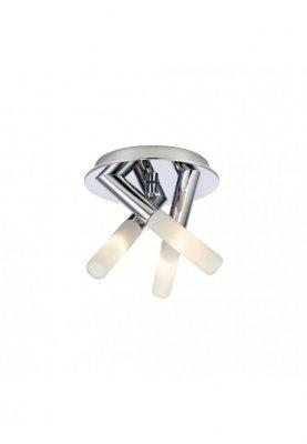 Plafoniera baie Glow, design modern, metal/sticla