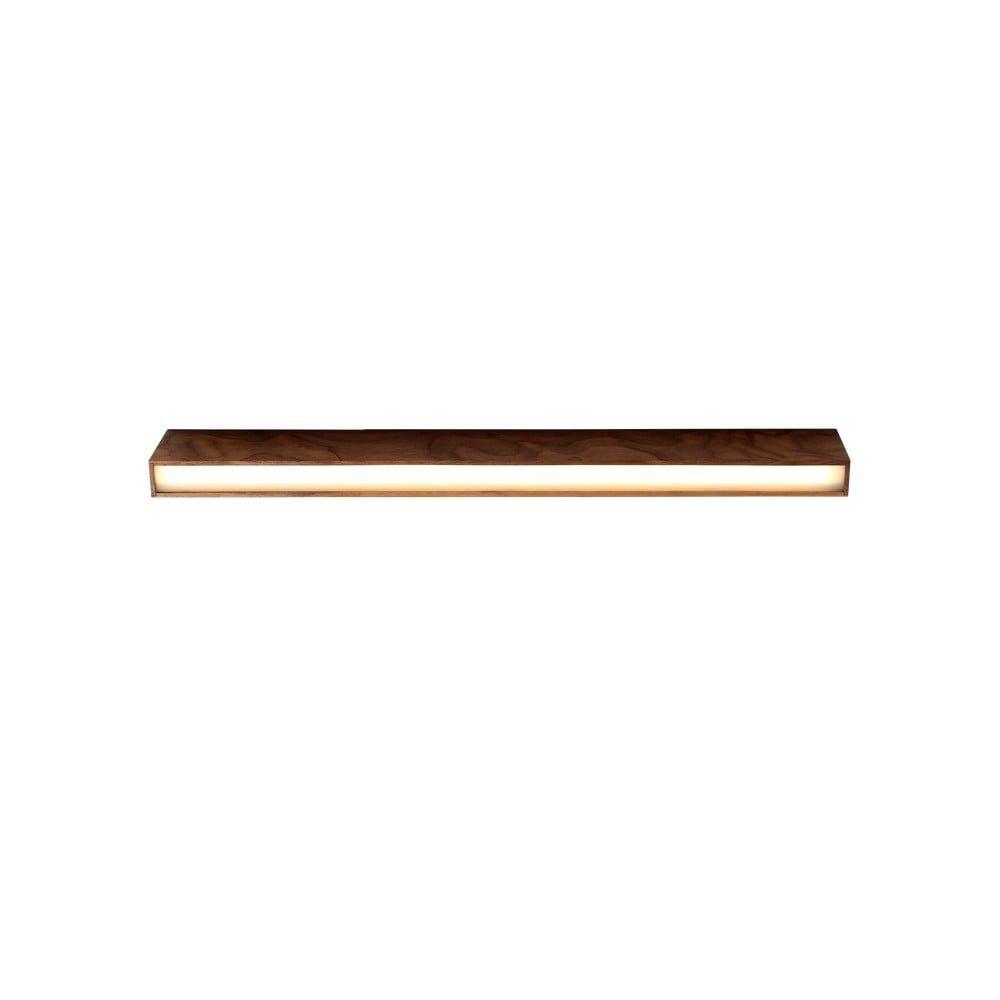 Plafonieră din lemn de nuc Custom Form Line Plus L Woody