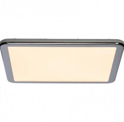 Plafoniera LED patrata pentru baie, Neptun, aluminiu
