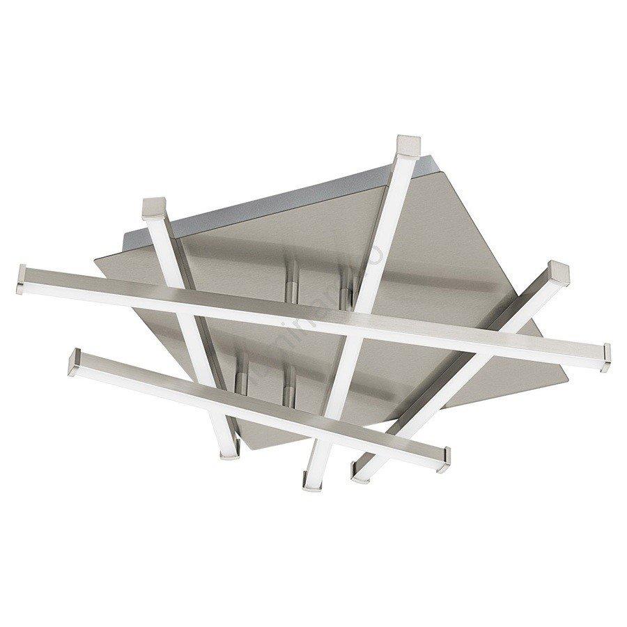 Plafoniera RIBAS 1xLED/17,5W/230V metalica , crom mat - alb, design modern