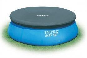 Prelata Intex pentru piscine rotunde cu inel gonflabil diametru 244cm