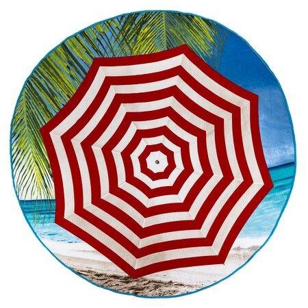 Prosop de plajă rotund  micro Umbrelă, 150 cm