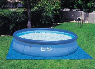 Protectie la sol pentru piscine supraterane