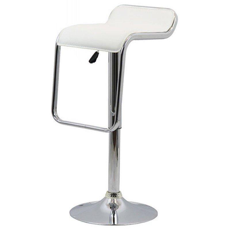 Scaun de bar ABS 108, suport picioare integrat in sezut, tapiterie piele ecologica