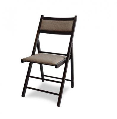Scaun Lori-scaun pliabil(pliant) din lemn masiv tapitat