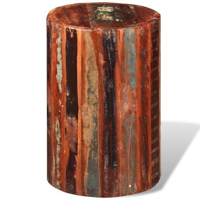 Scaune de bar, lemn masiv reciclat