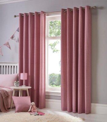 Set 2 draperii Sorbonne Pink 117x183 cm