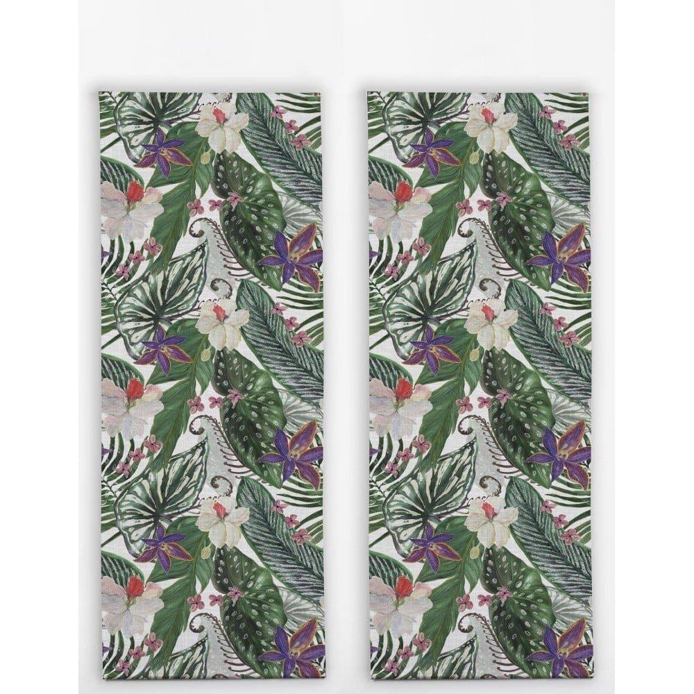 Set 2 naproane Madre Selva Nature, imprimeu vegetal