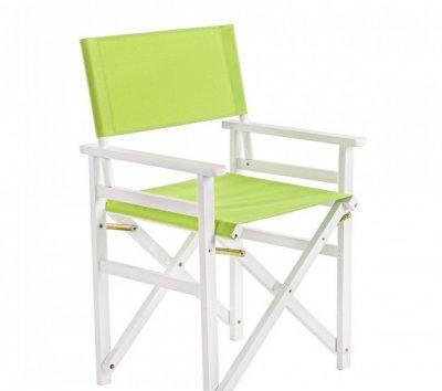 Set de 4 scaune pliante verde design modern de exterior SUN