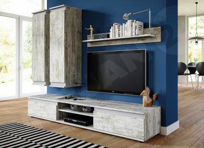 Set de mobilier Necki, montare pe perete, design modern