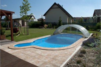 Sisteme de acoperire piscine in forma de arc Albixon Klasik