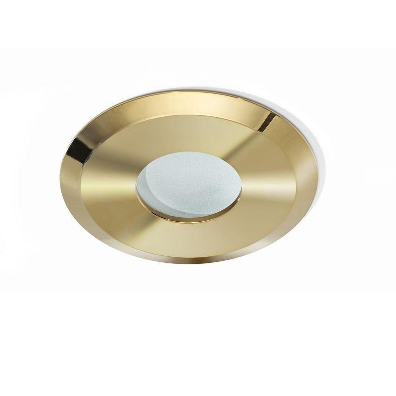 Spot pentru baie incastrabil OSCAR, auriu
