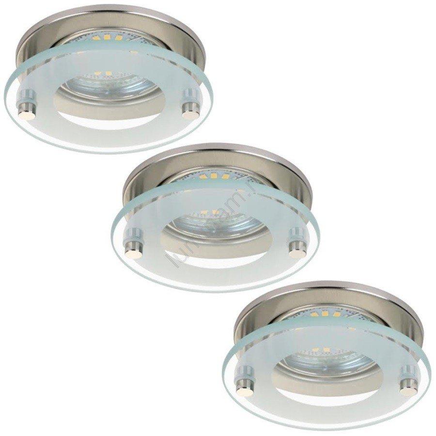 Spoturi rotunde SET 3x Lampă încastrată LED ATTACH, stil modern