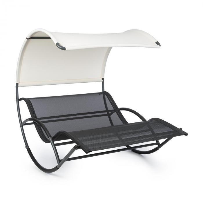 The Big Easy, leagăn, negru, rezistent la apă, maxim 350 kg, protecție UV