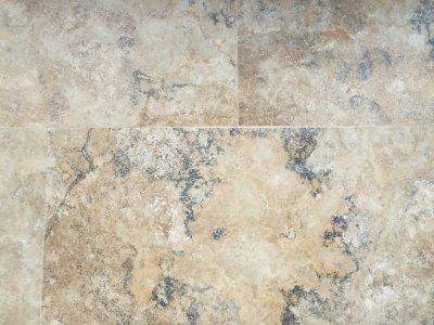 Travertin Nero Salbacos lucios 30.5x61x1.2 cm