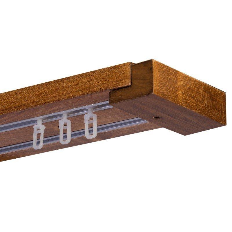 Travetto Stejar Auriu- set sina dubla tavan, lemn masiv