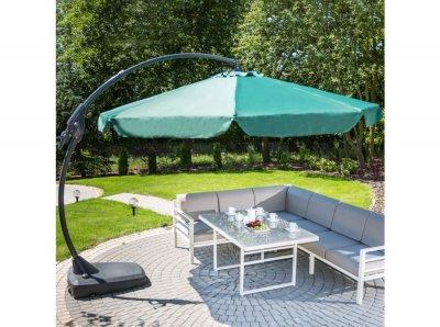 Umbrelă de grădină Napoli 3,5 m verde PATIO