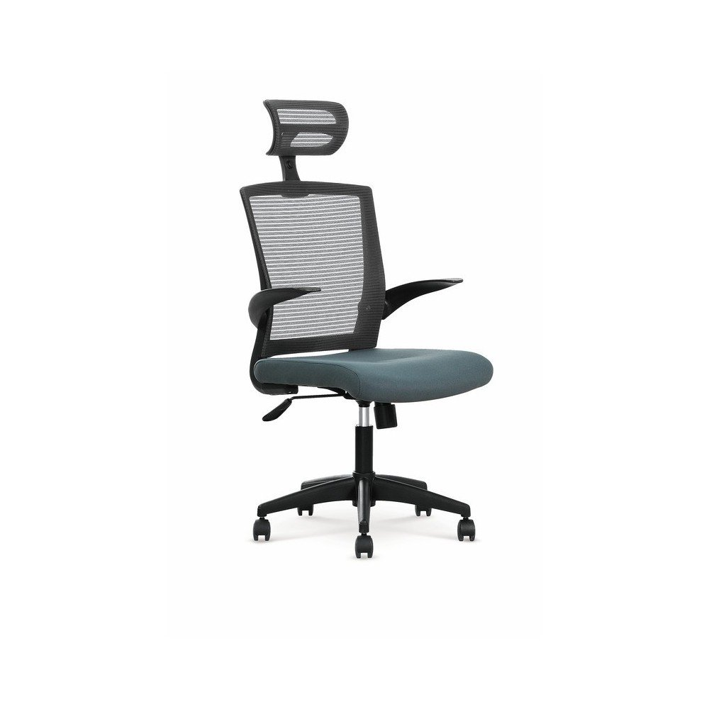 VALOR scaun birou gri, mecanism, TILT, textil/plasa