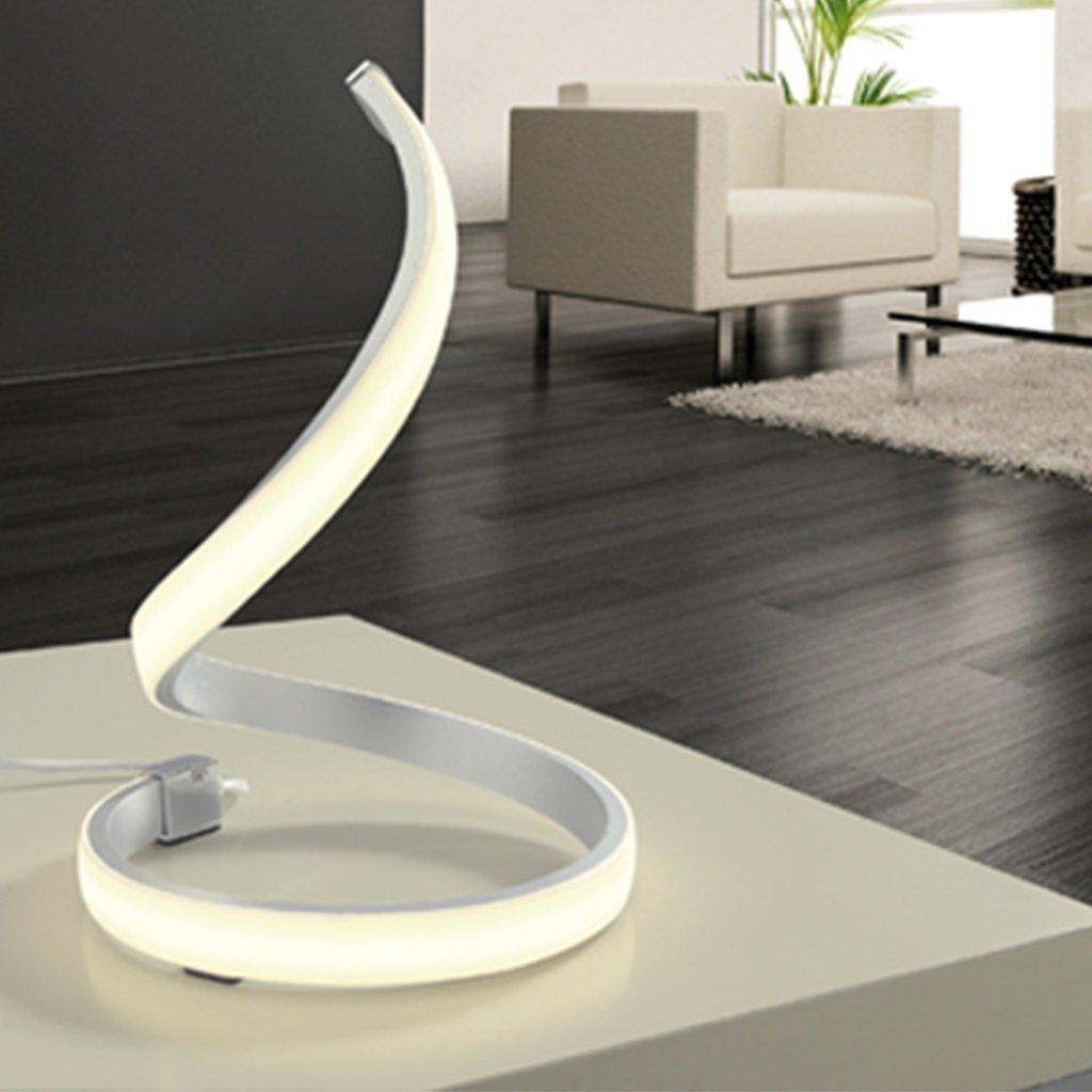 Veioza moderna LED NUR  MANTRA, crom mat/acril