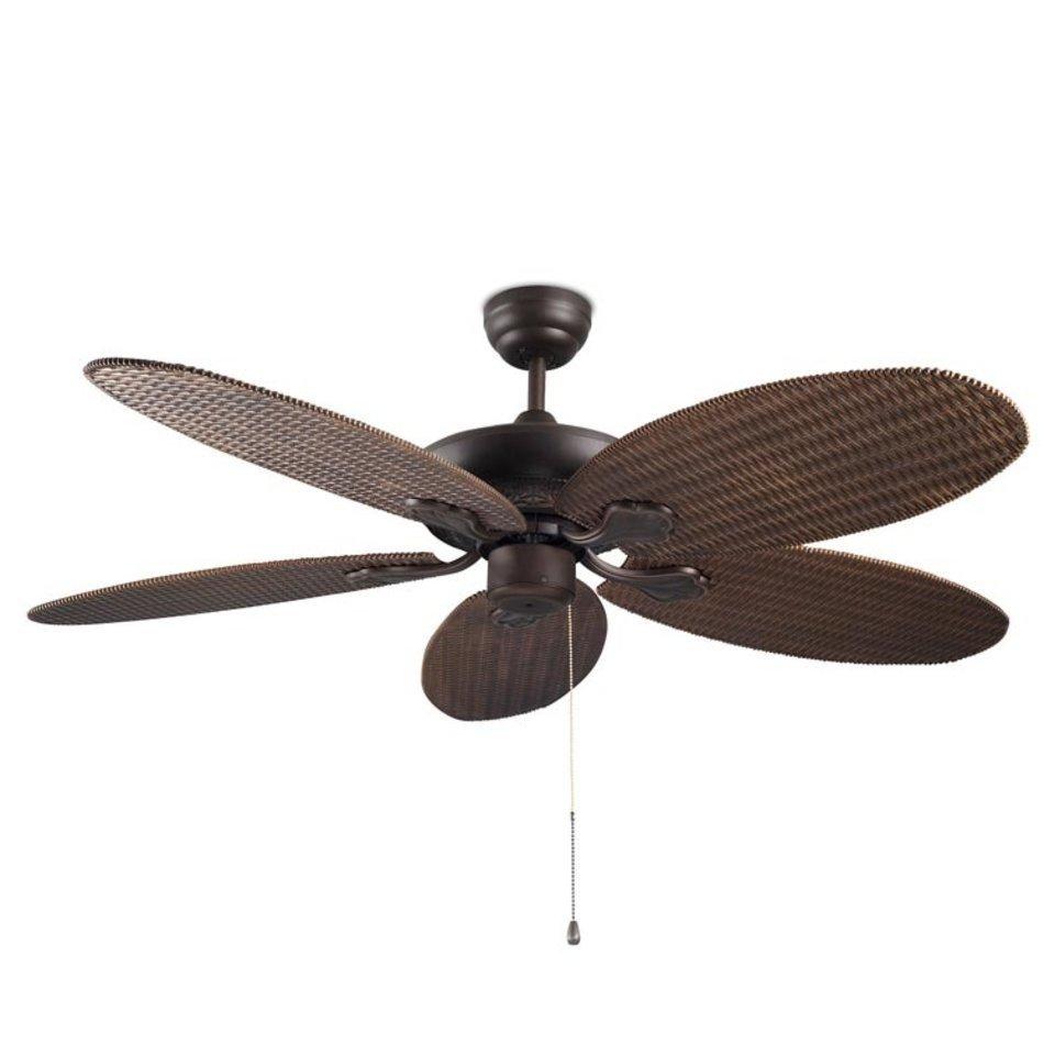 Ventilatoare de tavan maro, metalic