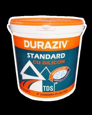 Tencuiala Decorativa Siliconica - Duraziv Standard 25 Kg